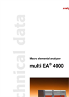 Technical Data multi EA 4000