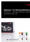 RoboGene - Model HBV - DNA Quantification Kit - Flyer