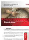 Speciation of Arsenic in Rice by LC-ICP-MS on PlasmaQuant MS Elite - Special Application Note