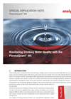 Monitoring Drinking Water Quality with the PlasmaQuant® MS - Special Application Note