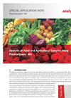 Analysis of Food and Agricultural Samples Using PlasmaQuant MS - Special Application Note