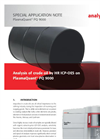 Analysis of crude oil by HR ICP-OES on PlasmaQuant PQ 9000 - Special Application Note