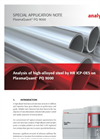Analysis of high-alloyed steel by HR ICP-OES on PlasmaQuant® PQ 9000 - Special Application Note