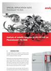 Analysis of metallic tungsten by HR ICP-OES on PlasmaQuant PQ 9000 - Special Application Note