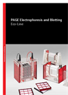 Eco-Line PAGE Electrophoresis and Blotting - Brochure