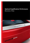 Biometra TOne Optimal Amplification Performance - Brochure