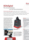 BDAdigital BioDocAnalyze with Digital Single Lens Reflex Colour Camera - Brochure