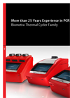 The Biometra Thermal Cycler Family - Brochure