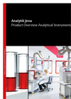 analytik Jena - Product Overview Analytical Instrumentation