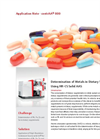 Determination of Metals in Dietary Supplements Using HR-CS Solid AAS