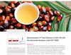 Determination of Total Chlorine in Palm Oil with the Elemental Analyzer multi EA® 5000