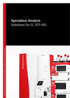 Speciation Analysis - Solutions for LC-ICP-MS - Brochure