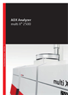 multi X 2500 AOX Analyzer - Brochure