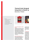 Biometra TRobot - Thermal Cycler Designed for Integration in Robotic Systems - Brochure