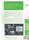 Environmental data intelligence from IoT and human sources