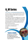Titan N2 - Model HF-Hi Flow - High Flow, Medium Purity Nitrogen Generating System - Datasheet