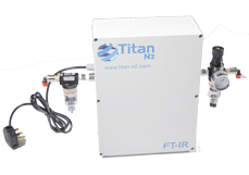Titan N2 - Model CO2 PG28 - Compact, Lightweight Purge Gas Generator System