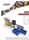 Refind - Model OBS 600 - Waste Portable Batteries Automatic Sorter Brochure