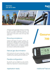Gasurveyor - Model GS700 - Portable Gas Detector Brochure