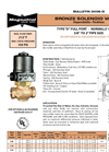 Model D - Bronze Solenoid Valve Brochure