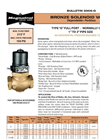 Model G - Bronze Solenoid Valve Brochure