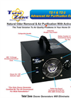 Total Zone - Model TZ-1 & TZ-2 - Ozone Generator Brochure