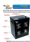 Total Zone - Model TZ-4 & TZ-8 - Ozone Generator - Brochure
