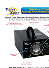 Total Zone - Model TZ UV-300 & TZ UV-600 - Ozone Generator - Brochure