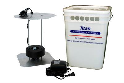 International Ozone - Model Titan - Hydroxyl Maximizer