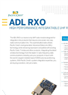 Model ADL RXO - Radio Module Wireless Data Links Brochure