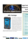 Vantage - Model ADL - High Speed Wireless Data Link Brochure