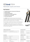 Model 7014 - Blackwater Level Sensor Brochure
