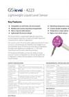 Model 4223 - Lightweight Level Sensor Brochure