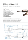 Model 4212 - In-Line Condition Monitoring Sensor - Brochure
