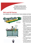 Model SHJ Series - Co Rotating Twin Screw Extruders Brochure