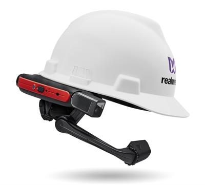 RealWear - Model Hmt-1Z1 - Head Mounted Wearable Device