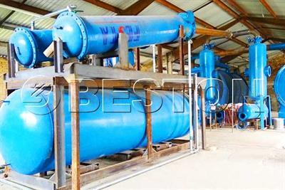 Waste Pyrolysis Plant - Rubber Pyrolysis Plant by BESTON
