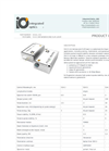 Integrated - Model 514.5 NM - Nanosecond SLM Laser System Brochure