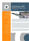 OxyTechw2 OPT Optical Sensor for Dissolved Oxygen Monitoring Specifications