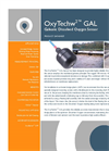 OxyTechw2 GAL Galvanic Sensor for Dissolved Oxygen Monitoring Specifications