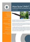 WaterTechw2 pH8000 Combined Sensor for pH, Redox and Temperature Monitoring Specifications