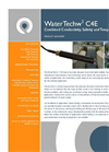 WaterTechw2 C4E Combined Sensor for Conductivity, Salinity and Temperature Monitoring Specifications