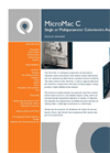 MicroMac C Single or Multiparameter Colorimetric Analyser Overview Brochure