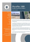 MicroMac 1000 Portable Single or Multiparameter Colorimetric Analyser Overview Brochure