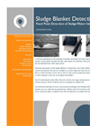 Sludge Blanket Level Detection - Continuous Monitoring on Settlement Tanks and Clarifiers Application Datasheet
