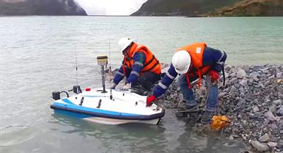 Unmanned surface vehicle solutions for tailings dam bathymetry survey - Water and Wastewater