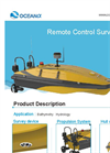 Model CL40Y - Remote Control Survey Boat - Brochure