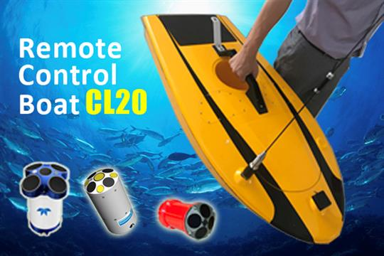 Oceanalpha - Model CL20 - Remote control measurement boat