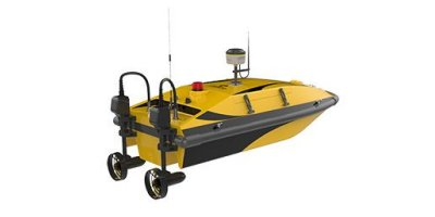 Oceanalpha - Model CL40Y - Remote Control Hydrographic Survey Vessel Boat