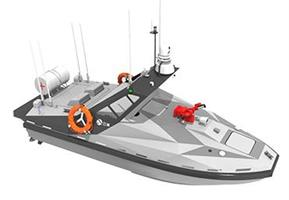 Oceanalpha - Model L30B - Fire Control & Rescue USV